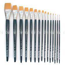 Da Vinci Nova Series 1870 Flat Brushes. Artists Oil Acrylic Single Brush.