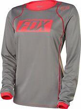 Fox Racing Womens Ripley Long Sleeve L/S Jersey Grey