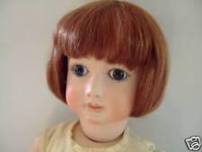 PELUCA LUC T14 (43cm) 100% cabellos natural para MUÑECA ANTIGUA - DOLL peluca
