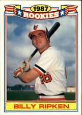1988 Topps Rookies Baltimore Orioles Baseball Card #1 Bill Ripken