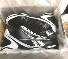 Reebok NFL Burner Speed 5 8 SD3 Black White Football Cleats NEW No Box 579d10696