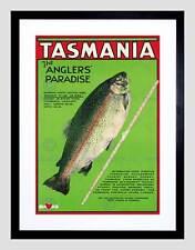 Juego De Pesca Viaje Tasmania Sport trucha pez Australia Lámina B12X6545
