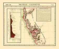 Old State Map - New California - Vandermaelen 1810 - 23 x 27.50