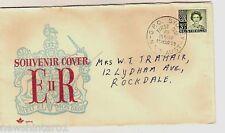 ROYAL SOUVENIR COVER - QUEEN ELIZABETH 1959