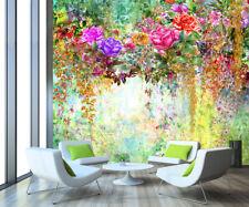 3D Gemalter Garten 8598 Tapete Wandgemälde Tapeten Bild Familie DE Lemon