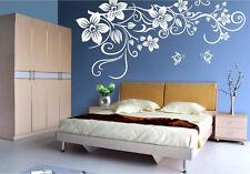 HAND Carving grandi Vine fiore farfalla Wall art Adesivi Da Parete UK rui52