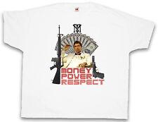 4xl & 5xl Money Power Respect 2 T-shirt Tony Montana Scarface Shirt XXXXL XXXXXL