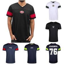 New Era Oficial partidarios Camisetas De Fútbol Americano Raiders Seahawks Patriotas