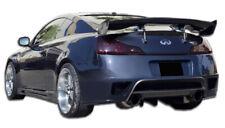 08-15 Fits Infiniti G Coupe 2DR GT-R Duraflex Rear Body Kit Bumper!!! 107044