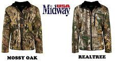Men's Stealth Softshell Jacket Realtree Mossy Oak Hunting Shooting Hiking Campin