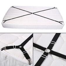 56.8~108.5cm Fixation Drap Pince Clips de Lit Croix Matelas Sangle Bande