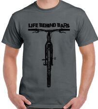La vida entre rejas-Para Hombre Divertido Ciclismo Camiseta Ciclista Bicicleta de Carretera MTB Día Del Padre