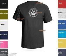 Valknut Runes Circle Odin Symbol Shirt  SIZES S-5XL