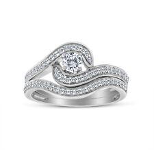 3/4ct tw Diamond Bridal Set in 10k White Gold