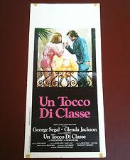 UN TOCCO DI CLASSE locandina poster George Segal Jakson A Touch of Class S14