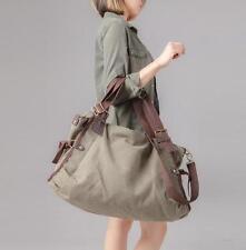 Vintage Women's  Canvas Messenger Shoulder Travel Shopping bag Casual Handbag