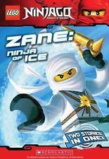 LEGO Ninjago Chapter Book: Zane, Ninja of Ice by Farshtey, Greg, Scholastic, Goo