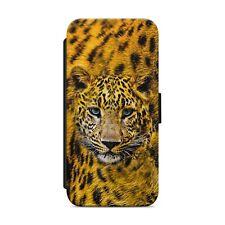 LEOPARD PRINT SKIN LEOPARD WALLET FLIP PHONE CASE COVER FOR IPHONE SAMSUNG   s48