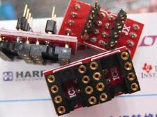 2x DIP to DIP Dual to Mono Opamp PCB Adapter OPA128SM OPA627