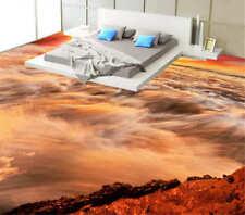 Dazzling Big Halo 3D Floor Mural Photo Flooring Wallpaper Home Print Decoration