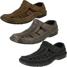 Mens Padders Breaker Closed Toe Leather Sandals