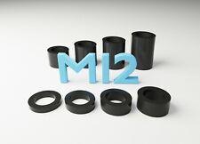 4 x 40 mm STAND OFF Entretoises 18 mm Dia Aluminium buissons Bonnet Raisers Colliers M10