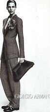 PUBLICITE 2012   ARMANI GIORGIO collection haute couture costume femme