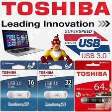 Clé FLASH USB 3.0 TransMemory TOSHIBA U361 : 16 32 64 Go Gb Giga avec capuchon