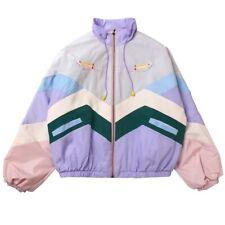 Kawaii Clothing Windbreaker Jacket Pastel Bomber Oversize Japan Ulzzang Korean