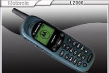 Original Motorola L2000 Unlocked CellPhone Antena 2G GSM 900 1800 1900
