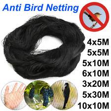 7 Size Black Anti Bird Netting Pest Commercial Plant Net Fruit Tree Bird Netting