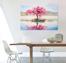 3D Rote Bäume, Reflexionen 53 Fototapeten Wandbild BildTapete Familie AJSTORE DE
