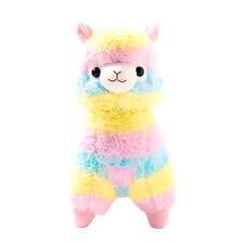 Arc-en-ciel Kawaii Mignon Alpaga Llama Cheval Boue Peluche Doux Cadeau Pr Enfant