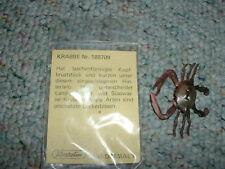 Elastolin  Weichplastik Fish Krabbe RARE
