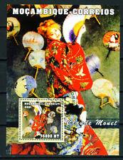 Mozambique Art Claude Monet Famous Painting 2001 Souvenir Sheet