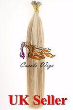 "22""1g Russian Slavic Remy Double Drawn German Keratin I-Tip Human Hair Extension"