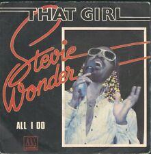 45 TOURS--STEVIE WONDER--THAT GIRL--1980