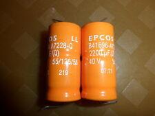 Epcos B41696-A7228-Q LL 2200µF 40V *Neu* *10 Stück*