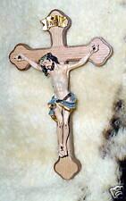 7 inch TOMASCO Wood CRUCIFIX NEW Catholic Cross Jesus