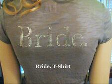 NEW! e.vil BRIDE.,MOTHER OF THE., BRIDEZILLA. Gemstone Graphic SHIRT XS S M $140