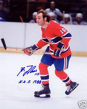 Guy Lafleur Montreal Canadiens Hockey SIGNED 8x10 Photo COA!