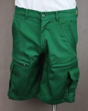 Cargo Shorts Men's Shamrock Green 8 pockets Casual 100% Cotton Twill Ret $44 New