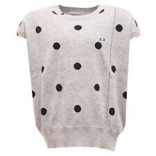 2164T gilet bimba maglione SUN 68 grigio/blu sweater kid