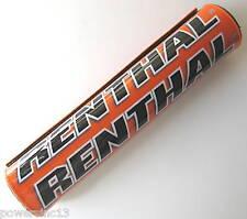 "Renthal 10"" Orange Crossbar Bar Pad SX XC XCW SXF EXC 125 250 300 350 450 NEW"