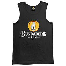 Bundy Bundaberg Mens Singlet Tank top Shirt Birthday fathers day Man Cave Gift