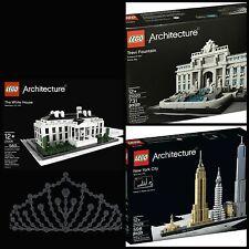 LEGO Architecture Sets 500-800pcs Free Shipping