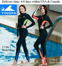 Y1708 Full body swimsuit for women sun protection swimsuit