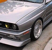 WIDE BODY FRONT FENDERS BMW E30 '84-'92 FIBERGLASS OEM