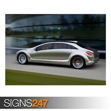 MERCEDES Benz 57 (AD337) POSTER AUTO-Foto immagine stampa poster art A0 a A4