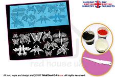Kitchen, Dining & Bar Premium Riso Carta 3911 24 X Libellula Topper Per Cupcake